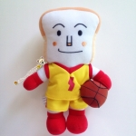 ตุ๊กตาโชคุปังแมนชุดนักบาสเก็ตบอล Shokupanman Anpanman in basketball costume