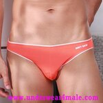 GMW Men Underwear Super Sexy Charming Comfortable Brief (Orange)