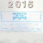 ผ้าเชียร์ Superjunior Mamacita