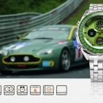 นาฬิกาข้อมือชายแฟชั่น Shank Sport watch SH112