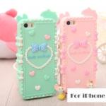 case iphone 4 - 4s ซิลิโคน น่ารักมากๆ สวยหวานเจ้าหญิ๊งเจ้าหญิง เคสไอโฟน4s