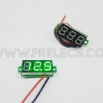Voltmeter 0.28นิ้ว สีเขียว