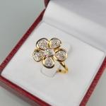 แหวน 9K ดอกไม้