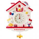นาฬิกาเฮลโหลคิตตี้ แบบแขวนผนัง Hello Kitty Decorative Pendulum Clock SANRIO JAPAN