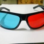 แว่น 3 มิติ เลนส์สี แดง / ฟ้า ( Red / Cyan )