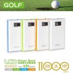 แบตสำรอง Golf ของแท้ รุ่น GF-125 Power bank ความจุ 11000mAh