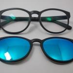 แว่นตากรองแสงคอมพิวเตอร์+คลิปออนแม่เหล็กเลนส์กันแดด 04