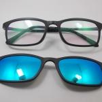 แว่นตากรองแสงคอมพิวเตอร์+คลิปออนแม่เหล็กเลนส์กันแดด 05