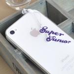 superjunior ที่ห้อยโทรศัพท์/จุกปิดกันฝุ่น
