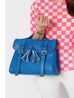 กระเป๋าแฟชั่น Axixi - 113 สีน้ำเงิน (Free จัดส่ง )