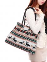 กระเป๋าแฟชั่น Axixi - 239 สี White (Free จัดส่ง)