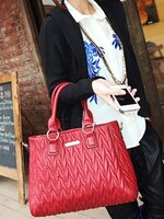 กระเป๋าแฟชั่น Maomaobag - 040 สีแดง (FREE จัดส่ง)