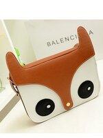 กระเป๋าแฟชั่น SC - 001 สี Brown (FREE จัดส่ง)