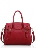 กระเป๋าแฟชั่น Axixi - 221 สี Red (Free จัดส่ง)