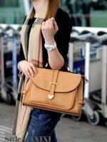 กระเป๋าแฟชั่น Axixi - 052 สี Apricot (พร้อมส่ง)