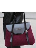 กระเป๋าแฟชั่น Maomaobag - 077 สี violet (FREE จัดส่ง)