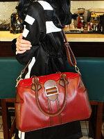 กระเป๋าแฟชั่น Maomaobag - 079 สี Red (FREE จัดส่ง)