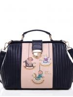 กระเป๋าแฟชั่น Axixi - 237 สี Blue (Free จัดส่ง)