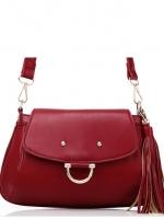 กระเป๋าแฟชั่น Axixi - 218 สี Red (Free จัดส่ง)