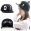 หมวกแฟชั่น SNSD B b สีดำ thumbnail 1