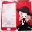 ฟิล์มกระจกด้านหน้ากากเพชรลายการ์ตูนด้านหลังเป็นสติ๊กเกอร์ Samsung Galaxy J5 thumbnail 5