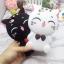 เคสซิลิโคนแมวอ้วน 3D ไอโฟน 7 plus(5.5 นิ้ว) thumbnail 3