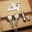 Auglamour AG-Rx1 หูฟัง Earbud โลหะแบบหรูหรา thumbnail 1