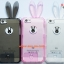 เคสยางคริสตัลใส กระต่ายน้อย ไอโฟน 4/4s thumbnail 1