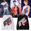 เสื้อแฟชั่นนักร้องเกาหลี เสื้อแขนยาว iKONCERT (ระบุไซส์ สี) thumbnail 1