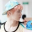 หมวกแฟชั่น EXO LUHAN Girlhood (สีฟ้า) thumbnail 1