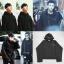 เสื้อแฟชั่นนักร้องเกาหลี เสื้อแขนยาวกันหนาว Bigbang GD KRIS EXO สีดำ thumbnail 1