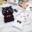 เคสซิลิโคนแมวอ้วน 3D ไอโฟน 7 plus(5.5 นิ้ว) thumbnail 4
