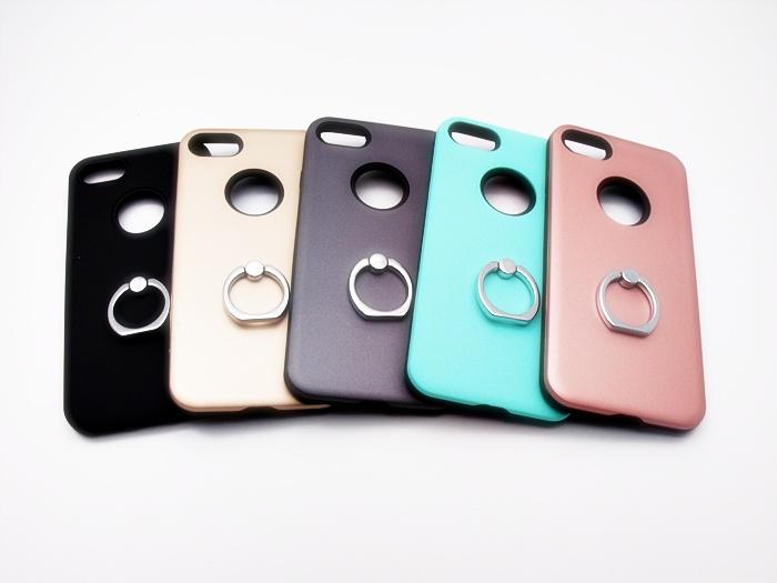 เคสกันกระแทก 2 ชั้น ติดแหวน ไอโฟน 7 4.7 นิ้ว