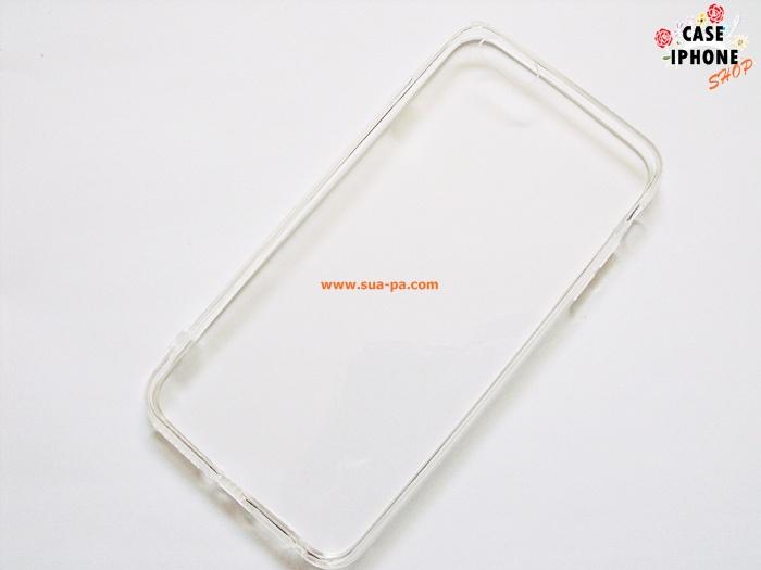 Case iphone 6-5.5 ขอบยาง หลังแข็ง ใส จุกกันฝุ่น