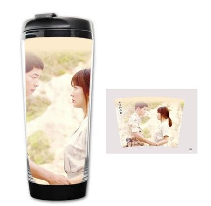 กระบอกน้ำ แก้วน้ำ Descendants of the Sun Song Joong Ki