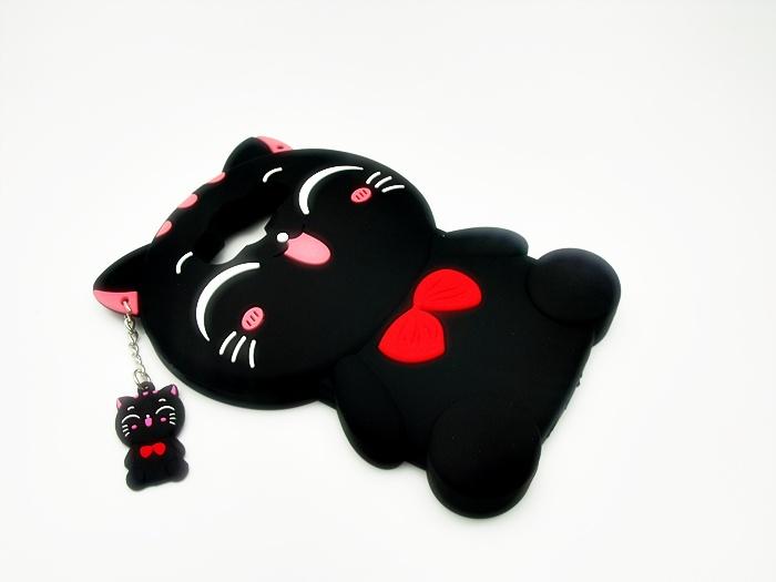 เคสซิลิโคนแมวอ้วน 3D ซัมซุง เจ 7