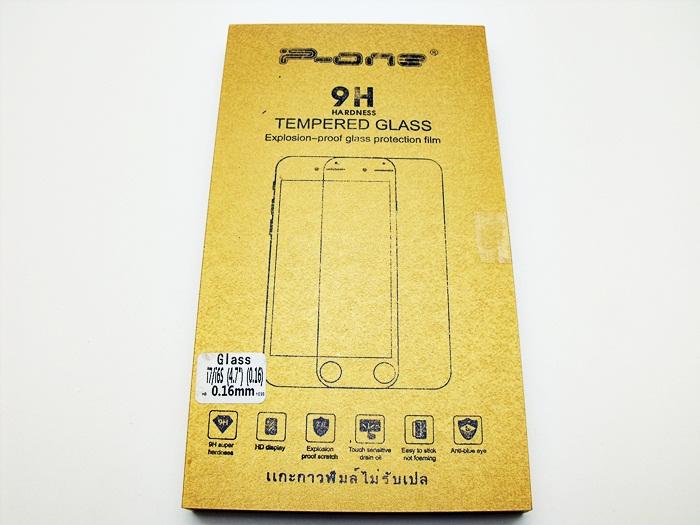 ฟิล์มกระจก Iphone 7-4.7 ไม่เต็มจอ (หนา 0.16 งอได้ไม่แตก)
