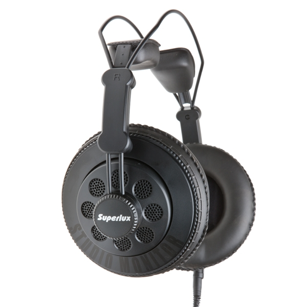 หูฟัง Superlux HD668B Fullsize Studio Monitor Headphone