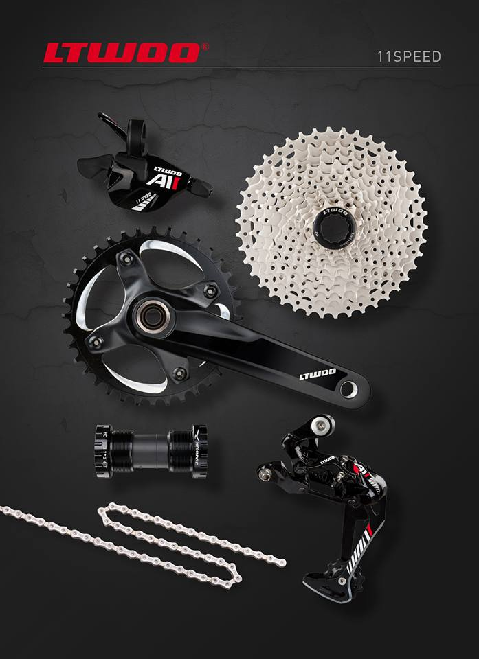 "ชุดเกียร์ LTWOO Arrow ""A11"" 11-Speed Groupset 2016"