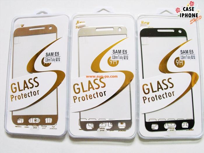 ฟิล์มกระจกไทเทเนียม Samsung Galaxy E5