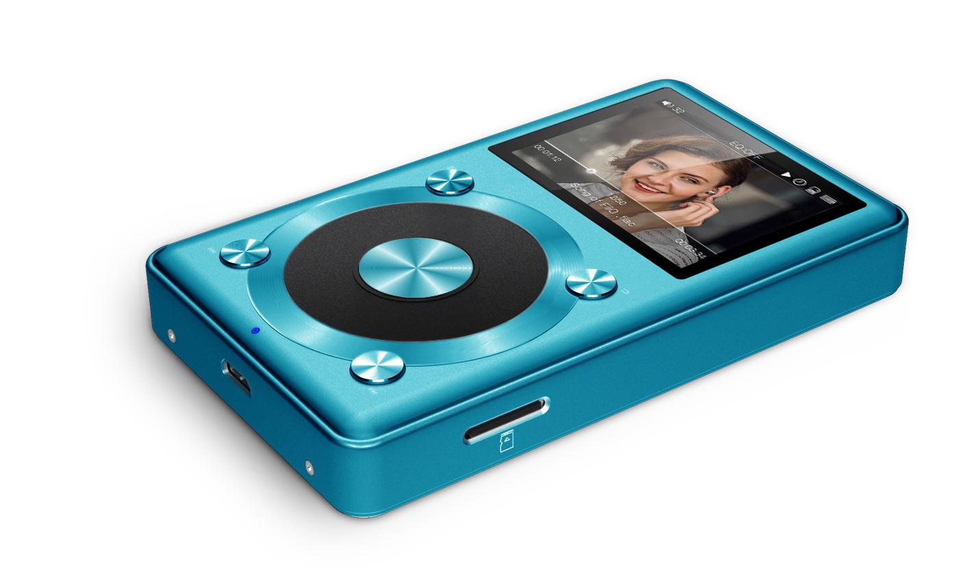 ขาย FiiO X1 สีฟ้า สุดยอด High Res Music Player รองรับไฟล์ Lossless192K/24bit คุณภาพระดับเครื่องเสียง