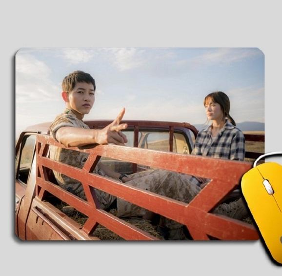 แผ่นรองเมาส์ Descendants of the Sun Song Joong Ki