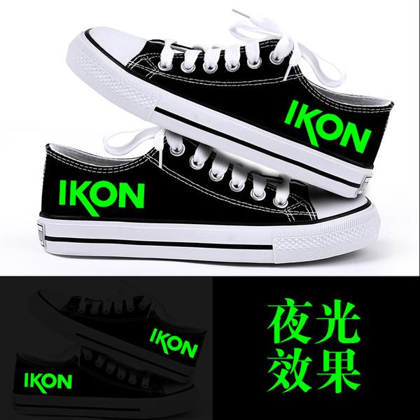 รองเท้าผ้าใบ iKON YG (เรืองแสง)