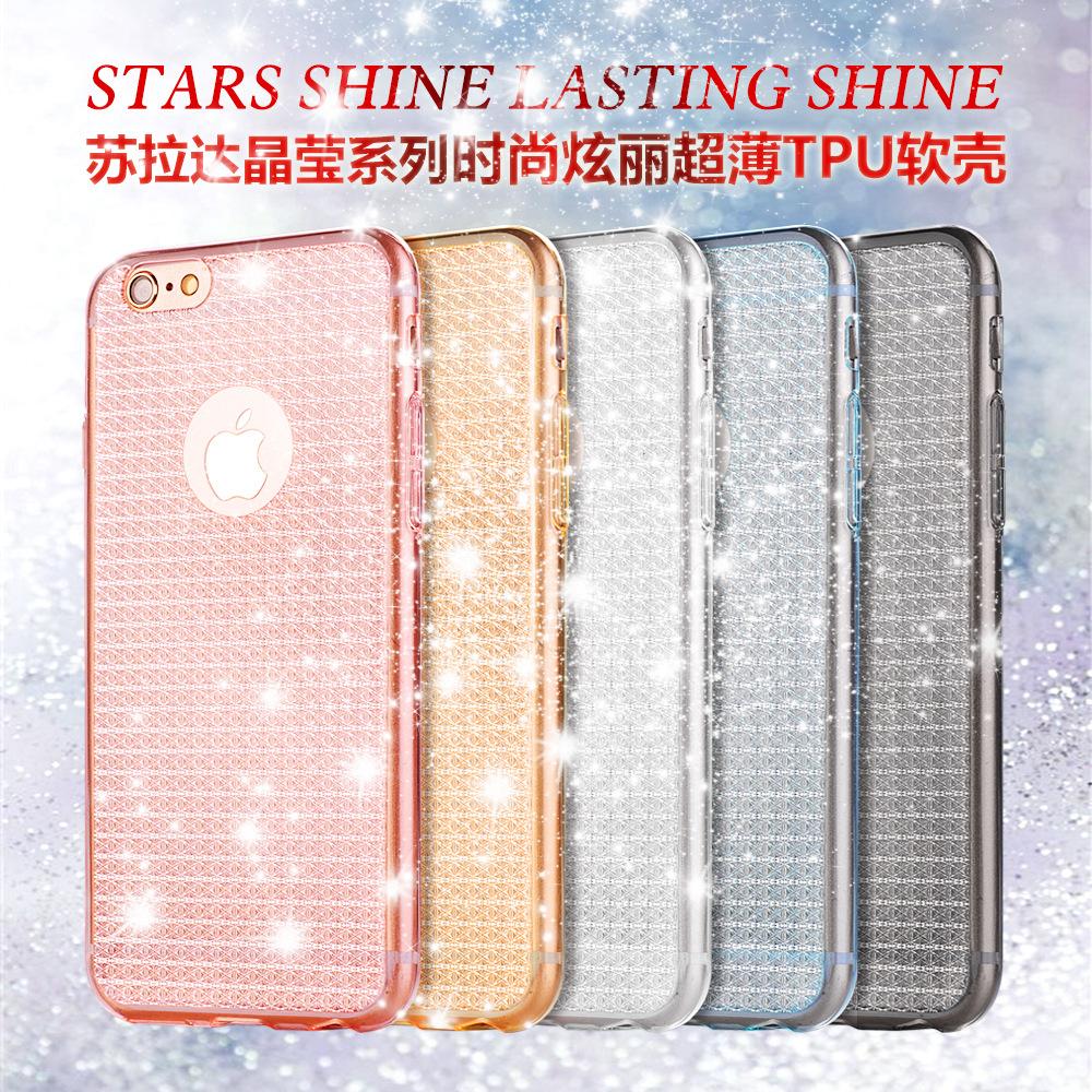 เคส tpu กากเพชร Star shine ไอโฟน 6/6s plus 5.5 นิ้ว