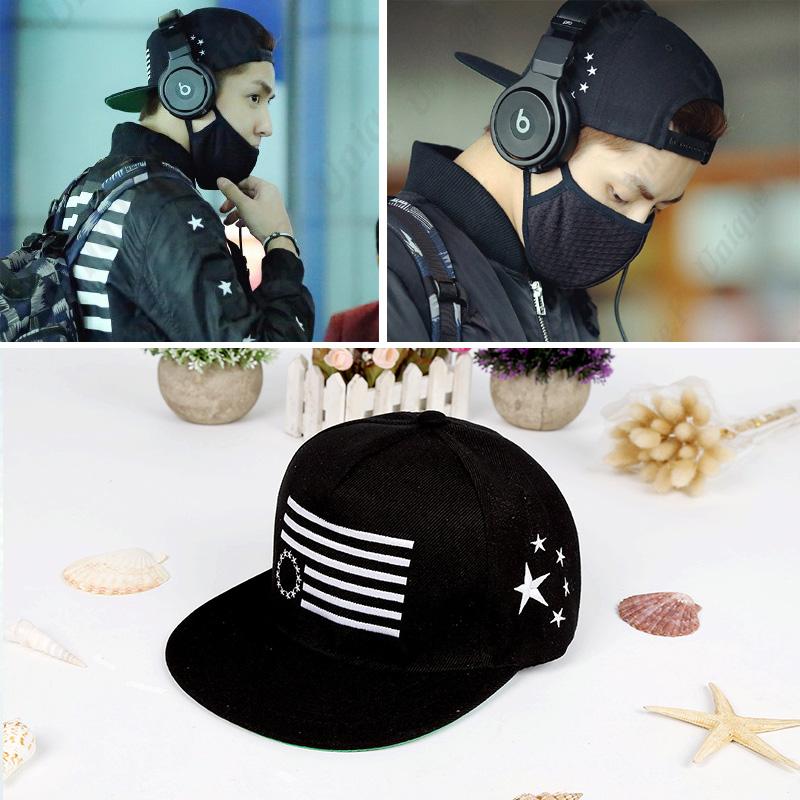 หมวกแฟชั่นเกาหลี Kris EXO