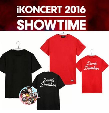 เสื้อยืดเกาหลี คอนเสิร์ต IKON SHOWTIME YG