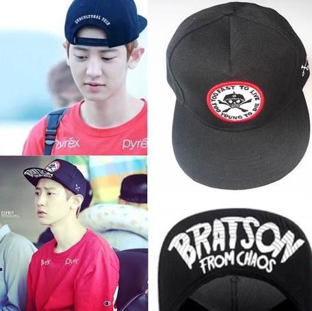 หมวก Exo Bratson From Chaos (สีดำ)