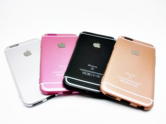 เคสนิ่มสีด้าน โลโก้ apple ไอโฟน 6/6s 4.7 นิ้ว