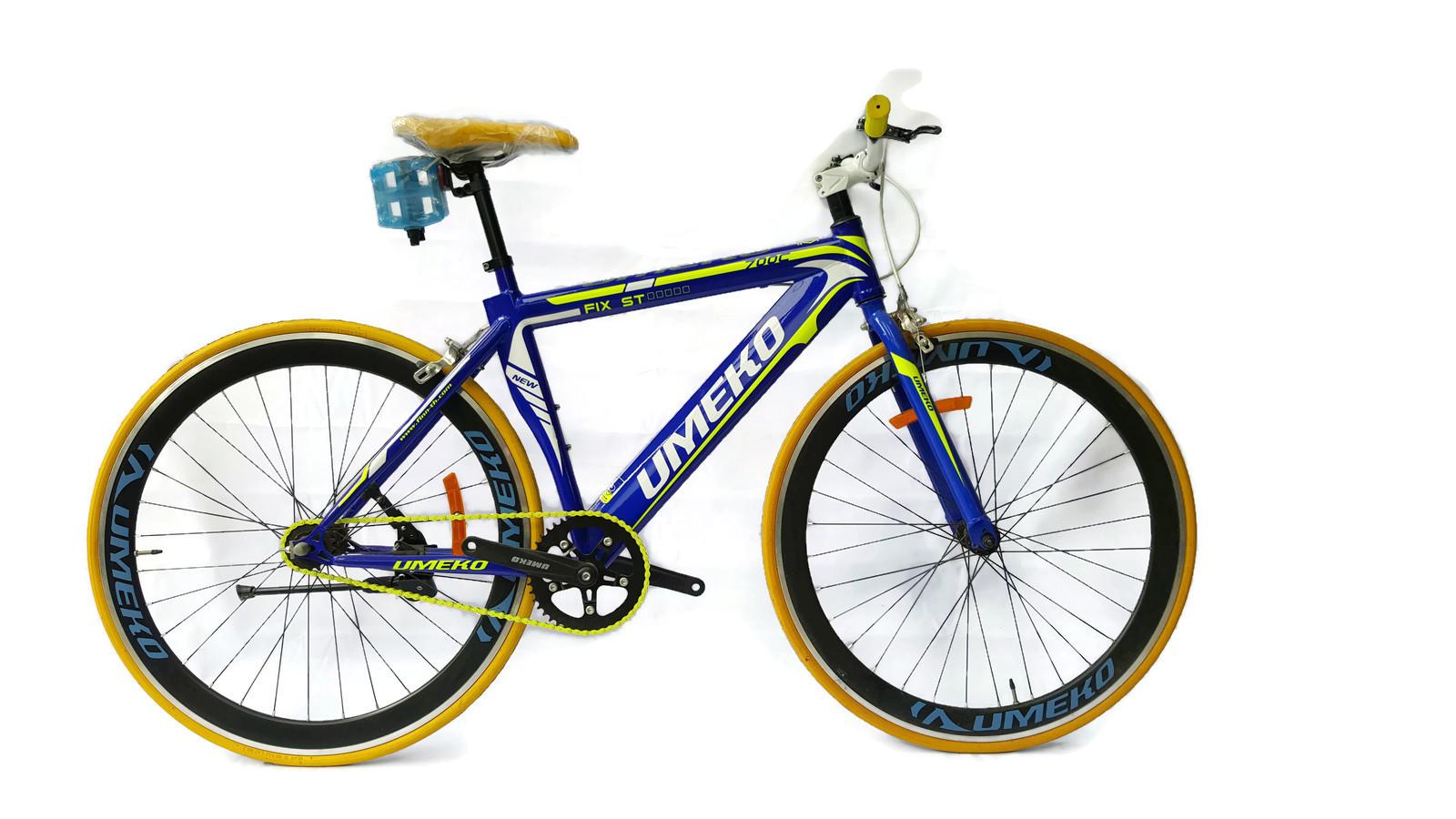 จักรยานฟิกเกียร์ UMEKO FIX ST ขอบสูง เฟรมเหล็ก Aero 2016