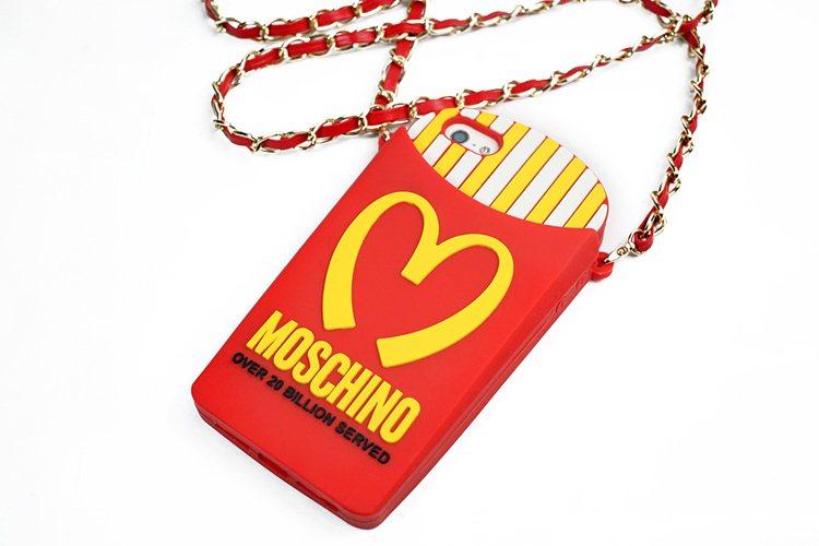 ซิลิโคนแม็ค MOSCHINO สายสะพาย ไอโฟน 4/4s
